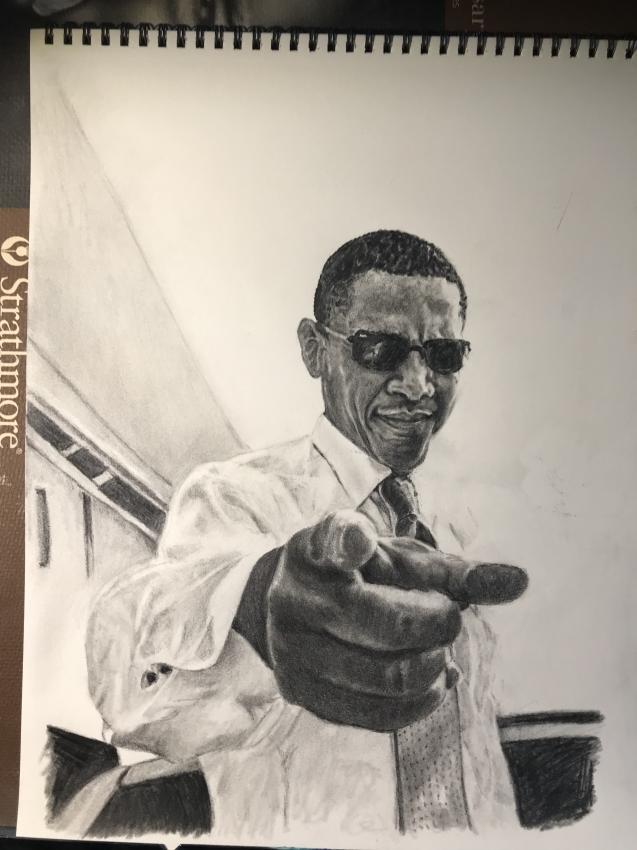 Barack Obama por Jagans